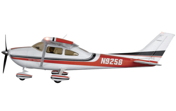 FMS CESSNA 182 1.4M RTF RED MODE2