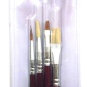 DELTA PAINT BRUSH SET 4PCS