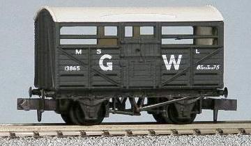 PECO NR45W CATTLE TRUCK GW N SCALE
