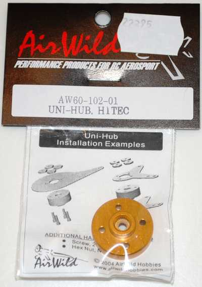 AIR WILD UNI ARM HUB ONLY HITEC