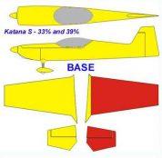 KRILL KATANA S 39% 117.7' BASE Yellow/Red