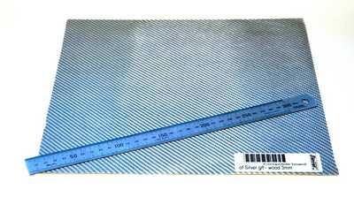 GFK KRILL BOARD SILVER FIBERGLASS/PLY 300X300X3MM