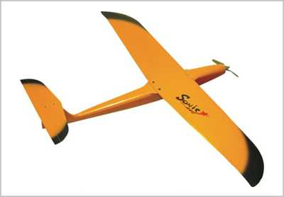 SONIC Electric Composite Glider 740mm Wing Span Ty1