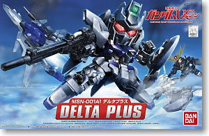 BB379 DELTA PLUS  Plastic model kit GUNDAM G0181343