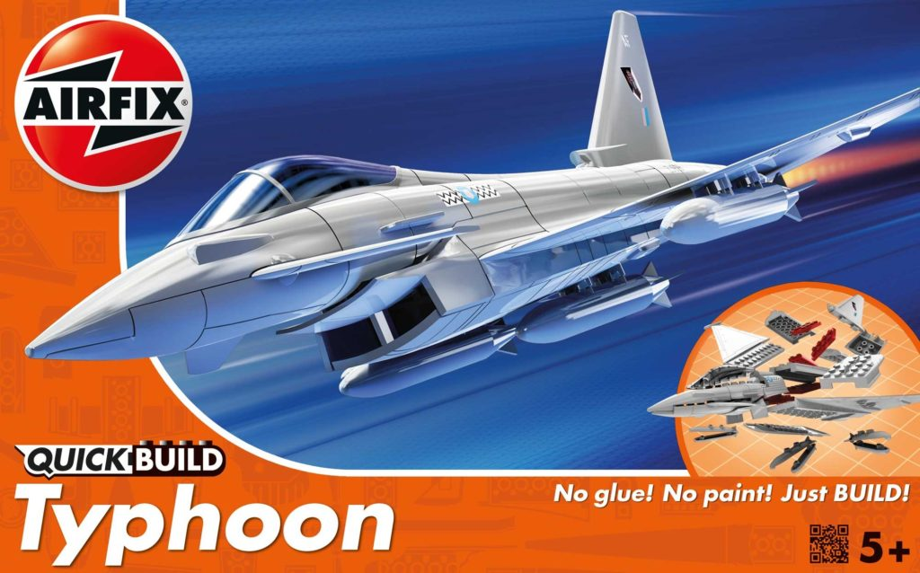 AIRFIX TYPHOON QUICK BUILD Plastic Model Kit
