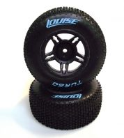 LOUISE SC-TURBO 1/10 SC TYRES+RIMS SUIT TRAXXAS FRONT