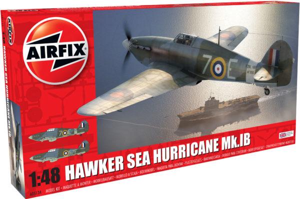 HAWKER SEA HURRICANE AIRFIX 05134 Plastic Model Kit