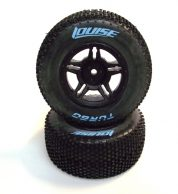 LOUISE SC-TURBO 1/10 SC TYRES+RIMS SUIT TRAXXAS REAR
