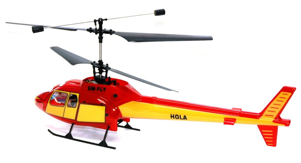 HOLA CONTRA ROTATION HELI READY TO FLY