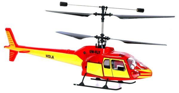 HOLA CONTRA ROTATION HELI READY TO FLY