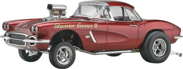 D&M 62 CORVETTE GASSER REVELL 4949 Plastic Model Kit