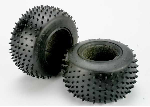 4790R (PART) TRAXXAS SPIKED TIRES 2.2'