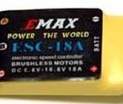 ESC 18Amp Speed Controller With/BEC Emax