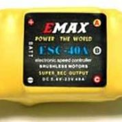 ESC 40Amp Speed Controller With/BEC Emax