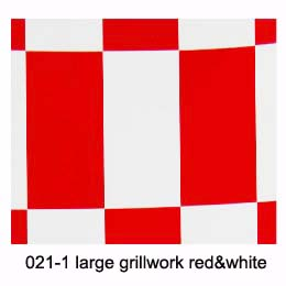 EMAX COVERING LARGE CHECKER RED/WHITE