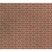 METCALFE M0054 BRICK SHEETS RED 8 SHEETS