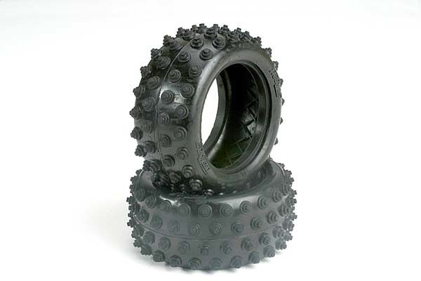 1770 (PART) TRAXXAS TYRES 2.15 SPIKED REAR