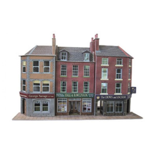 METCALFE PO205 LOW RELIEF-PUB AND SHOPS