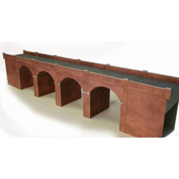 METCALFE PO240 DOUBLE TRACK VIADUCT RED BRICK