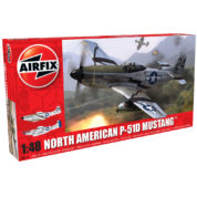 NORTH AMERICAN P51 D AIRFIX 05131 Plastic Model Kit