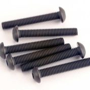 2580 (PART) TRAXXAS BUTTONHEAD SCREWS 3X20MM