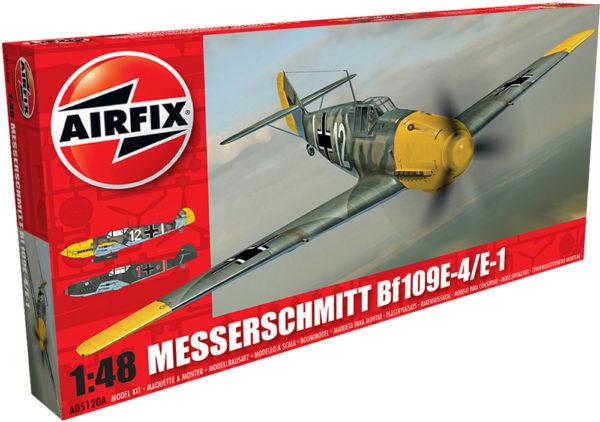 MESSERSCHMITT BF 109E AIRFIX 05120A Plastic Model Kit