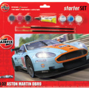 ASTON MARTIN DBR9 GULF AIRFIX 50110 Plastic Model Kit