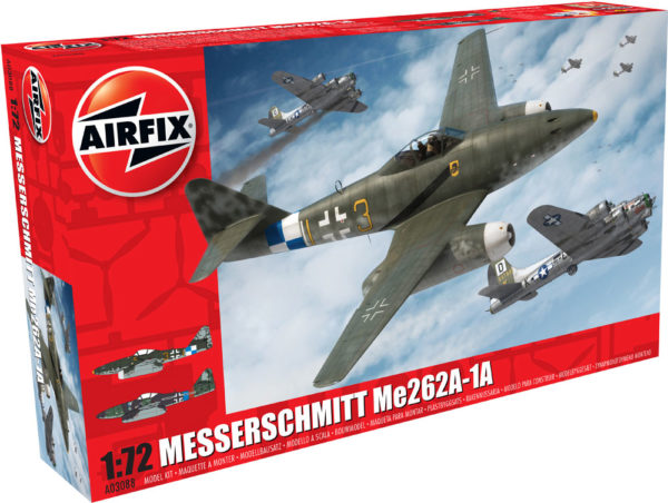 MESSERSCHMITT ME262A AIRFIX 03088 Plastic Model Kit