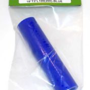 TY1 HEAT PROOF SILICON TUBE 18XT3X100 BRAIDED TY0222