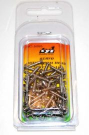 TY1 SERVO SCREWS M3X16 - 50PK TY5095