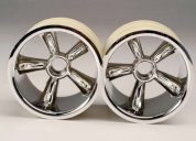 4174 (PART) TRAXXAS WHEELS PROSTAR CHROME-2