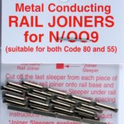 PECO SL310 RAIL JOINERS N/SILVER