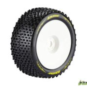 LOUISE T-PIRATE TRUGGY 1/8 SPORT TYRES 0OFFSET WHITE