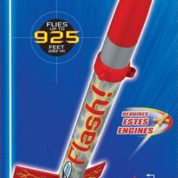ESTES ROCKET LAUNCH SET KIT FLASH