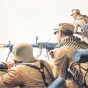 WW2 GERM/BRIT/FREN INF REVELL 02451 Plastic Model Kit