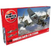 1/48 JUNKERS JU87B-2 AIRFIX 07115 Plastic Model Kit