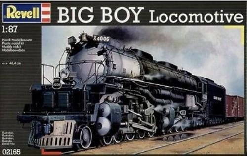 BIG BOY LOCO KIT REVELL 02165 Plastic Model Kit