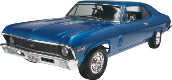 69 CHEVY NOVER SS KIT REVELL 2098 Plastic Model Kit