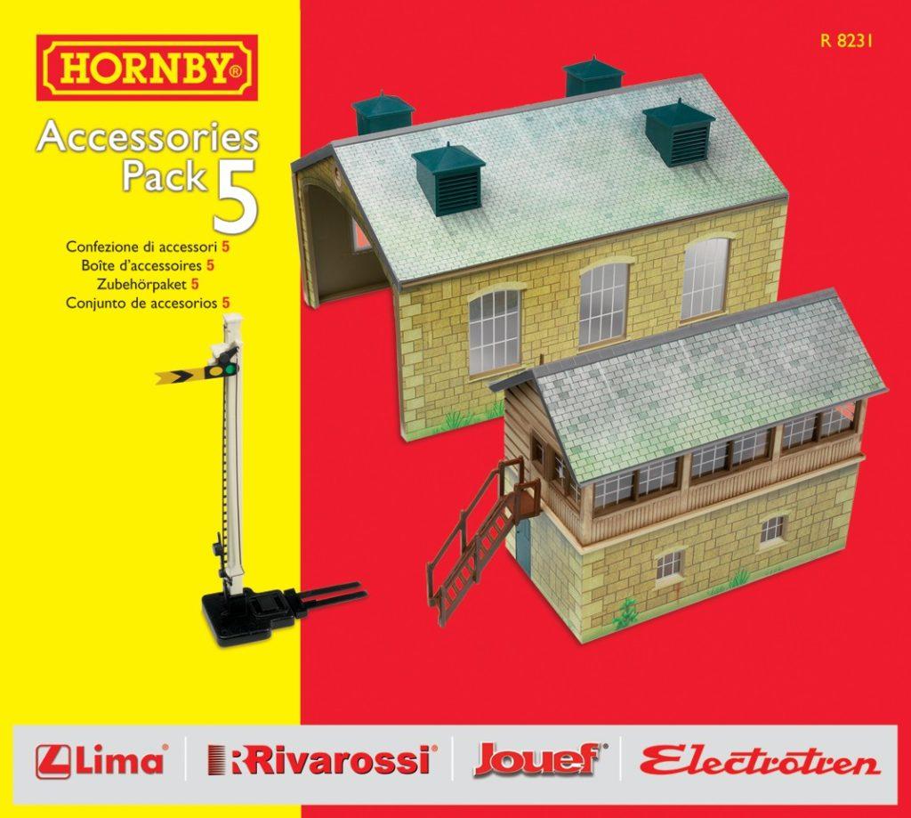 HORNBY R8231 TRAKMAT ACC PACK 5