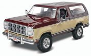 80 DODGE RAMCHARGER REVELL 4372 Plastic Model Kit