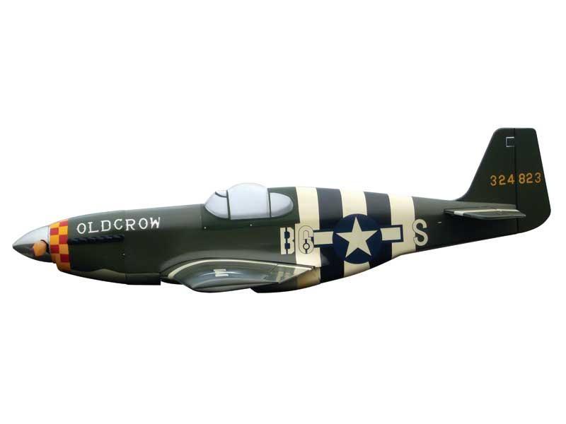 MUSTANG P-51B .91/120 Model Tech