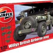 WILLYS JEEP TRAILER AIRFIX 02339 Plastic Model Kit