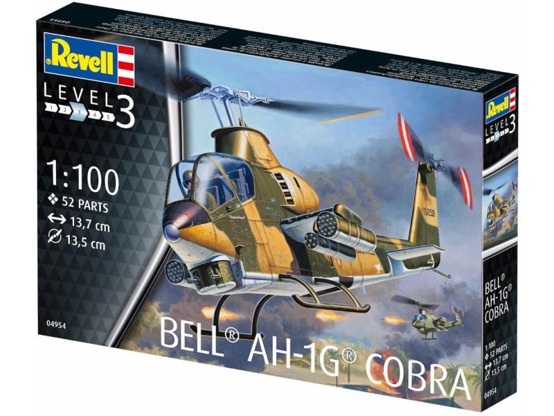 BELL AH-1G COBRA REVELL 04954 Plastic Model Kit