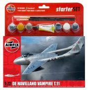DH VAMPIRE T11 AIRFIX 55204 Plastic Model Kit