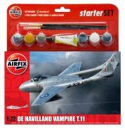 DH VAMPIRE T11 AIRFIX 55204 Plastic Model Kit