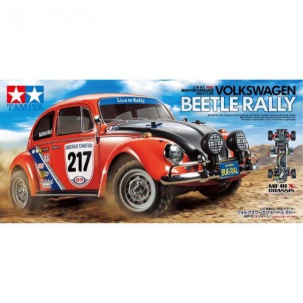 TAMIYA VW BEETLE RALLY KIT 58650