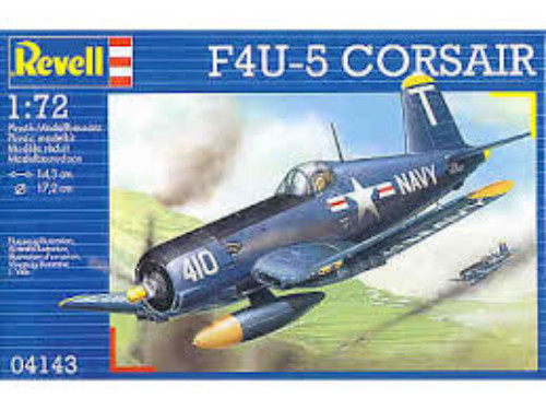 F4U-5 CORSAIR REVELL 04143 Plastic Model Kit