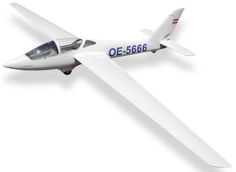 FOX 4M AEROBATIC SCALE SAILPLANE TOPMODEL CZ
