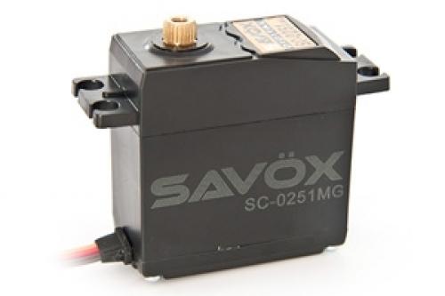 SAVOX SC-0251MG DIGITAL SERVO 16KG .18SEC