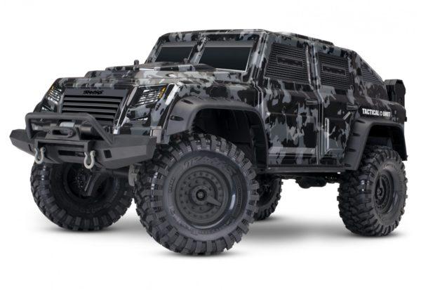 Traxxas 1/10 TRX-4 Tactical Unit Electric Off-Road Rock Crawler 82066-4